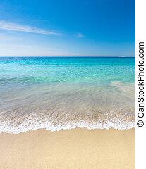 raj, plaża