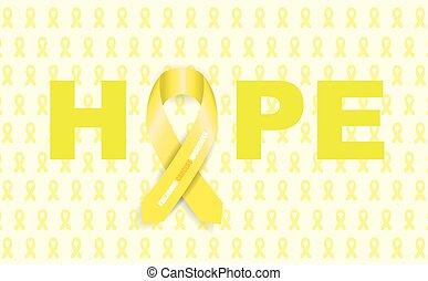 rak, dzieciństwo, wstążka