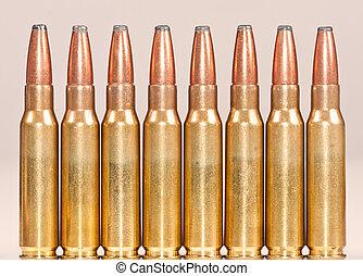 rak, rad, av, gevär, projektiler