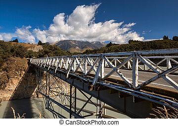 Rakaia Gorge Bridge