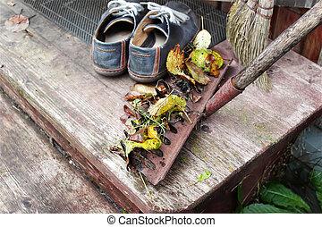 Rake And Shoes