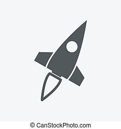 raket, pictogram