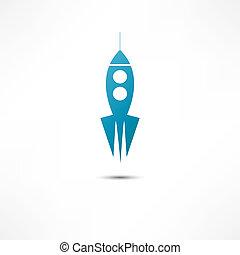 rakete, ikone