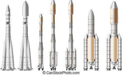 rakieta, przestrzeń
