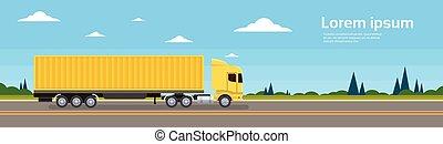 rakomány, szállítás, hajózás, csereüzlet, út, rakomány, kúszónövény