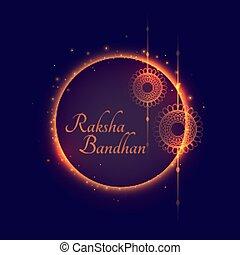 raksha bandhan indian traditional festival background design
