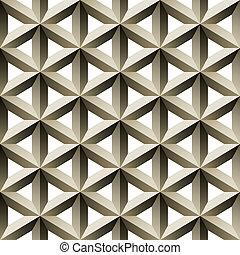 ralar, padrão, metal, seamless