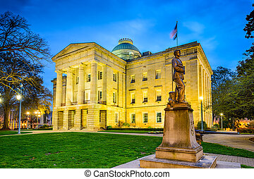 Raleigh State Capitol - Raleigh, North Carolina, USA State...
