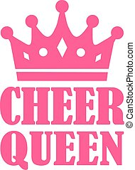 rallegrare, regina, corona