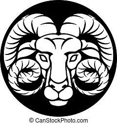 Ram Aries Zodiac Sign