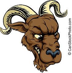 Ram character illustration