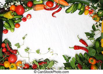 ram, grönsaken