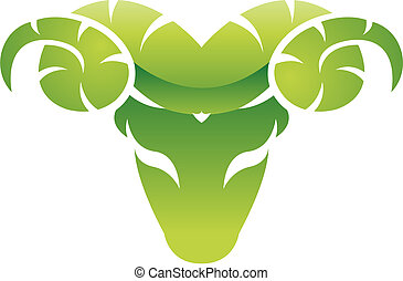 ram, groene, glanzend