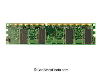 RAM memory module isolated