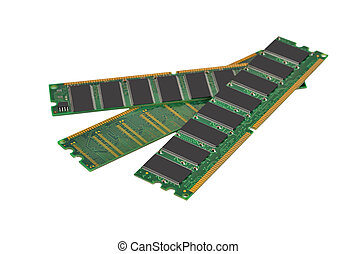 Ram memory - Stick of computer random access memory (RAM)