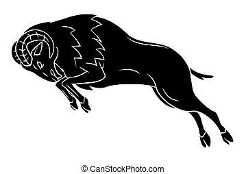 Ram Sheep Tatto