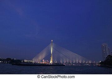 Rama VI Bridge, Chao Phraya River