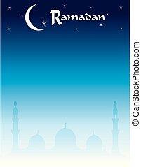 Ramadan and Eid Skyline