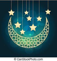 ramadan, cartolina auguri
