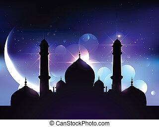 ramadan festival design - beautiful vector background of...