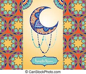 Ramadan greetings background - Salam hari raya means Happy...