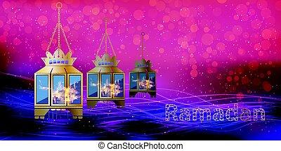 Ramadan. Illustration for your design