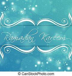 Ramadan Kareem Abstract