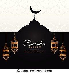 ramadan kareem awesome design background