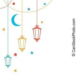 Ramadan Kareem Background - Illustration Ramadan Kareem...