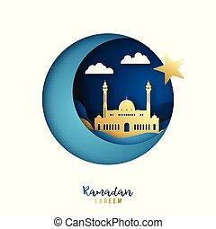 Ramadan Kareem banner.