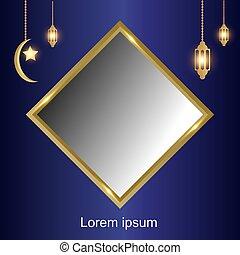 Ramadan Kareem beautiful background