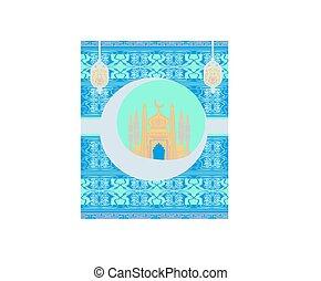 Ramadan Kareem Design card