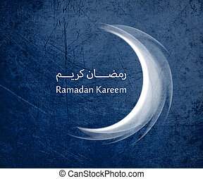 Ramadan Kareem - conceptual image for the holy month of...