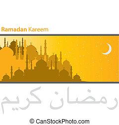 Ramadan Kareem - Gold city of Mosques Ramadan Kareem...