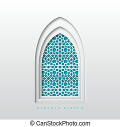Ramadan Kareem greeting background.