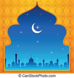 Ramadan Kareem ( Happy Ramadan) background - vector...