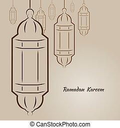 Ramadan Kareem illustration