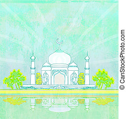 ramadan, kareem, karte, raster