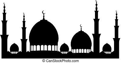 Ramadan Kareem Mosque Background