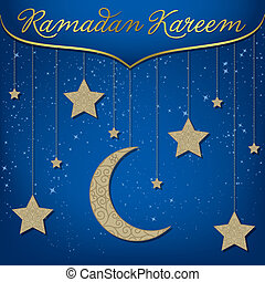 "Ramadan Kareem - ""Ramadan Kareem"" (Generous Ramadan) card in..."