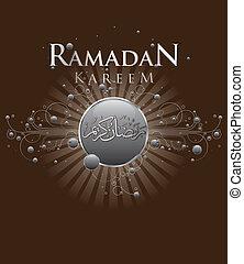 Ramadan Kareem - Abstract Ramadan Kareem celebration design...