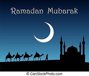 ramadan, mubarak.