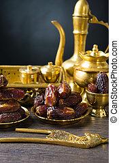 ramadan plam dates, eaten before aidilfitri festival