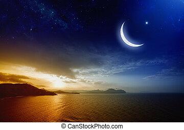 ramadan, plano de fondo
