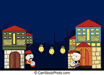 ramadan, schlagzeuger