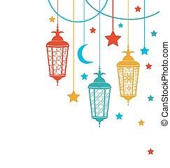 ramadan, tło, kareem