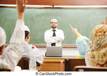 Ramadan time at school