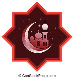 Ramadan with mosque