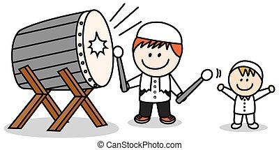 Ramadhan drum