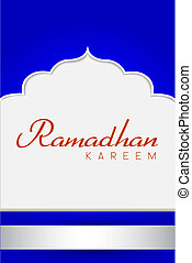 Ramadhan Greeting Card - for background or cover, Ramadhan...